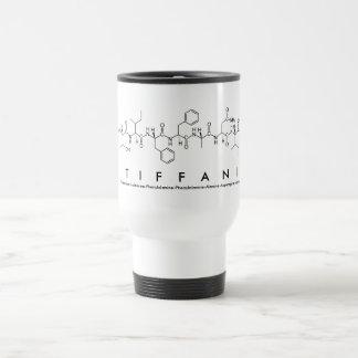 Tiffani peptide name mug