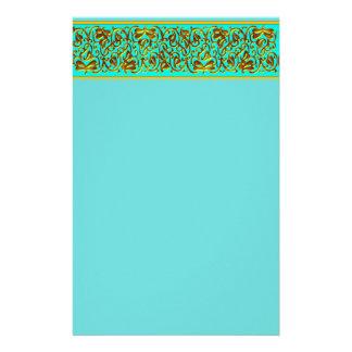 Tiffany Blue 2 Stationary Personalized Stationery
