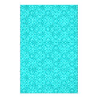 Tiffany Blue and Cream Interlocking Circles Stationery