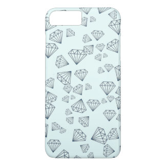 Tiffany Blue Geometric Diamond iPhone 7 PLUS Case