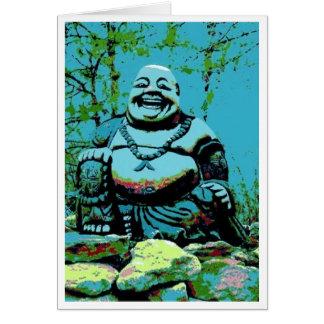 Tiffany Buddha Card