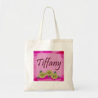Tiffany Daisy Tote Bag