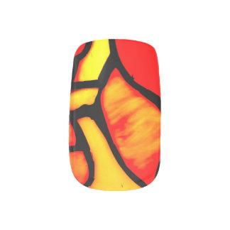 TIFFANY DESIGN nails Minx Nail Art
