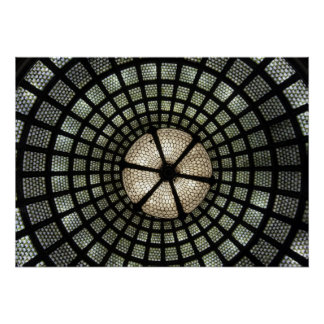 Tiffany Glass Dome Poster