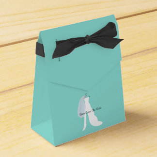 Tiffany Here Comes The Bride Party Favor Boxes