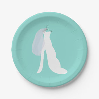 Tiffany Here Comes The Bride Party Plates