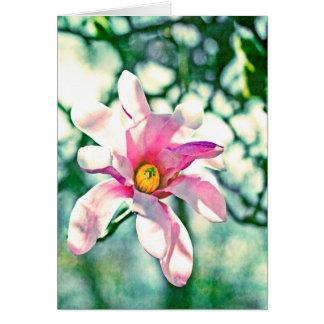 Tiffany Magnolia Note Card