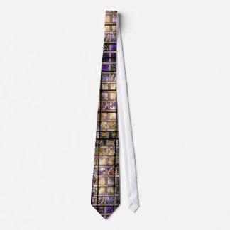 Tiffany Stained Glass Lattice Vine Tie