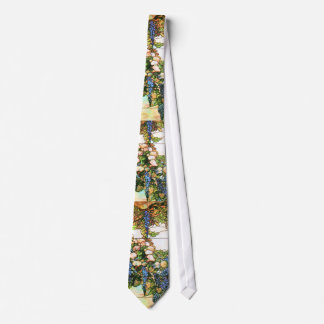 Tiffany Stained Glass Wisteria Tie