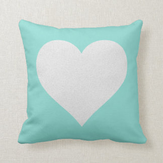 Tiffany Teal Blue Celebration Party Throw Pillow