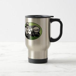 Tig Welder Tanker Truck Oval Travel Mug