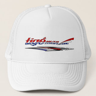 Tige Man July 4th Red White and Blue Hat