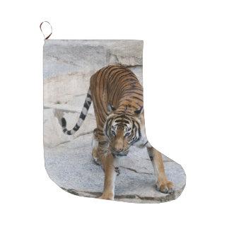 Tiger 1216 AJ Large Christmas Stocking