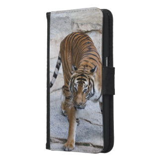 Tiger 1216 AJ Samsung Galaxy S6 Wallet Case