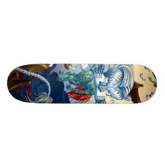 Tiger 18.1 Cm Old School Skateboard Deck