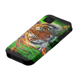 Tiger 1A Case-Mate Case iPhone 4/4S Covers