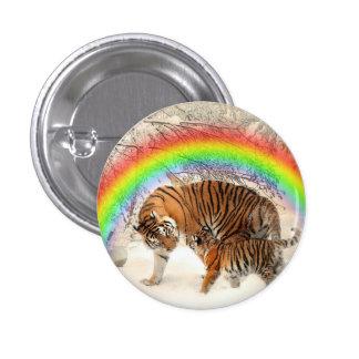 Tiger 3 Cm Round Badge