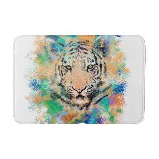 Tiger 3 multicolor bath mat