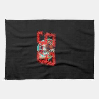 Tiger 3D Tea Towel