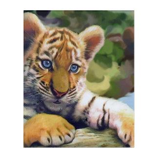 Tiger Acrylic Wall Art