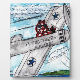 Tiger Airlines Plaque