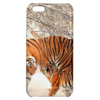 Tiger and cub - tiger iPhone 5C case