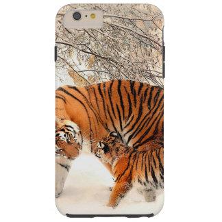 Tiger and cub - tiger tough iPhone 6 plus case