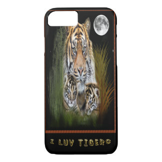 Tiger and cubs i-phone case