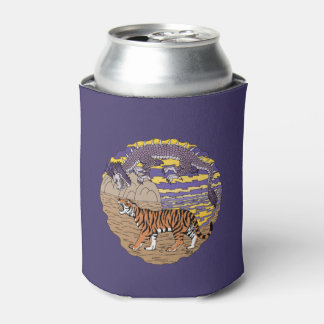 Tiger and Dragon Can Cooler