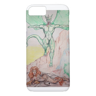 tiger and dragon fantasy iPhone 8/7 case