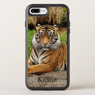 Tiger And Name OtterBox Symmetry iPhone 8 Plus/7 Plus Case