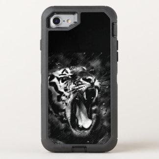 tiger animal OtterBox defender iPhone 8/7 case
