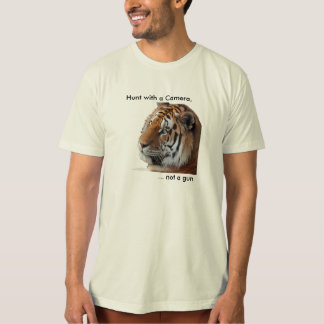 Tiger anti-trophy hunting Tee Shirt
