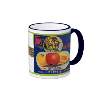 Tiger Apples Mug