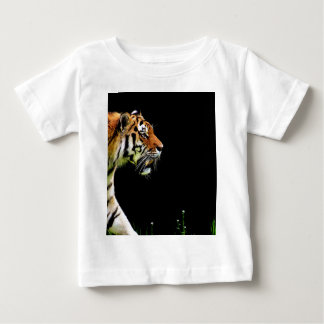 Tiger Approaching - Wild Animal Artwork Baby T-Shirt