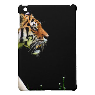 Tiger Approaching - Wild Animal Artwork iPad Mini Cases