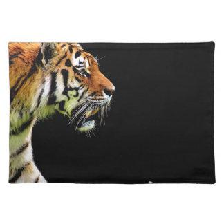 Tiger Approaching - Wild Animal Artwork Placemat
