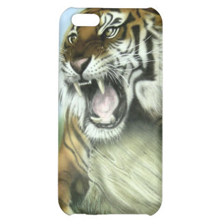 Tiger Art Cover For iPhone 5C