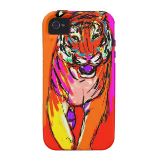 Tiger Art iPhone 4 Cases