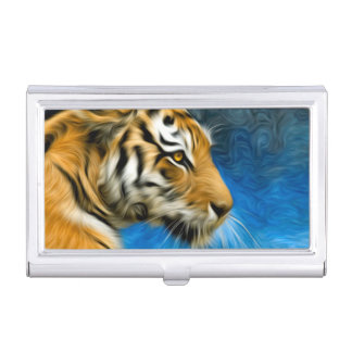 Tiger Art Painting Business Card Holders
