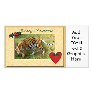Tiger Auroara-c-149 copy Personalized Photo Card
