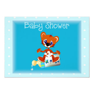 Tiger  Baby Shower Invitation