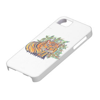 TIGER Bengal Tiger in the lush foliage Barely There iPhone 5 Case