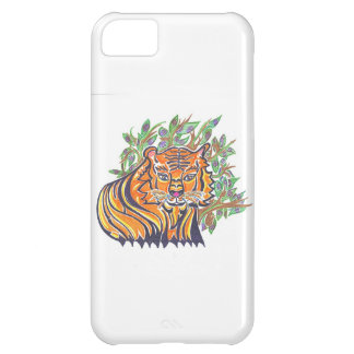 TIGER Bengal Tiger in the lush foliage iPhone 5C Case
