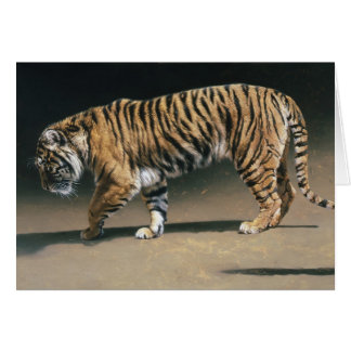 Tiger Blank Card by Andrew Denman