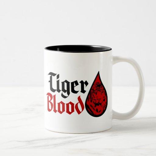 Tiger Blood $17.95 Two Toned Coffee Mug