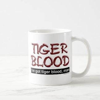 Tiger Blood Basic White Mug