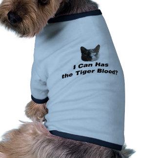 Tiger Blood Pet Shirt