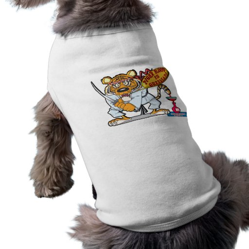 Tiger Blood Is Grrrreat Pet Tee Shirt