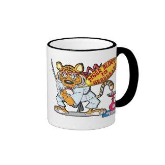 Tiger Blood Is Grrrreat Ringer Mug